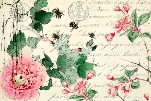 Cherry Blossoms Decoupage Paper