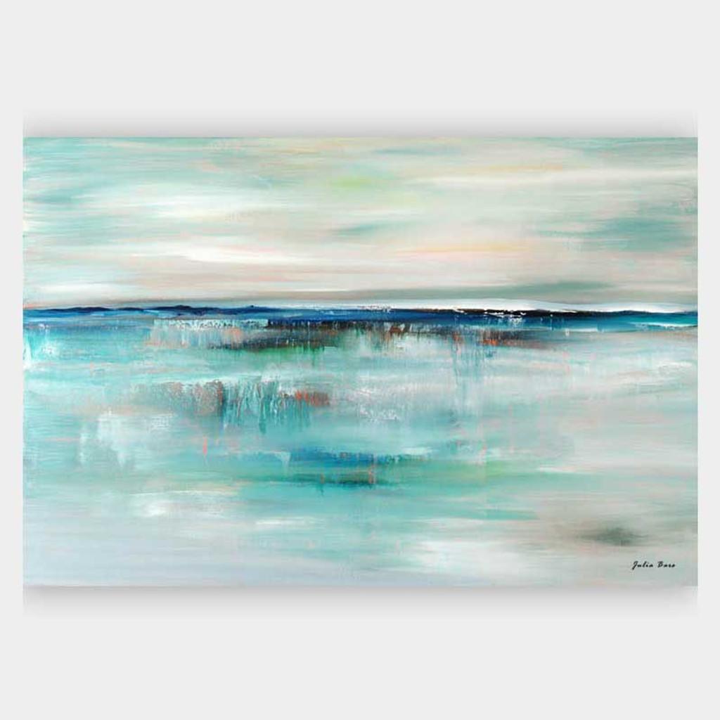 ocean wall art, large art print on canvas