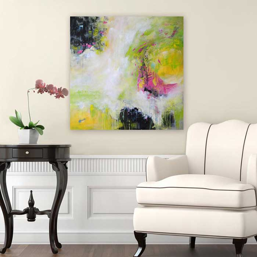 large abstract wall art by Julia Bars