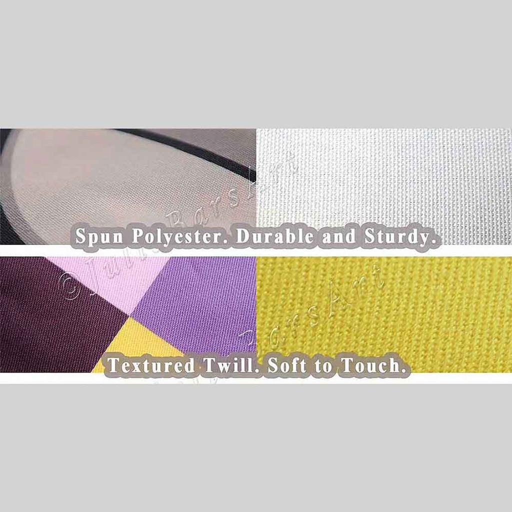 Throw Pillow Covers with Geometric Design, Toss Pillows, Green Cream