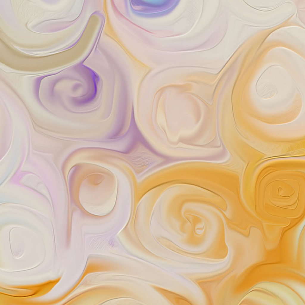 Abstract Floral Art, Roses Painting Giclee Print, Blue Purple Yellow