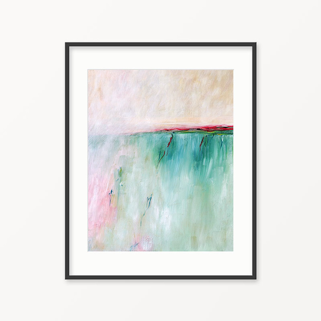 printable abstract art, coastal painting by Julia Bars