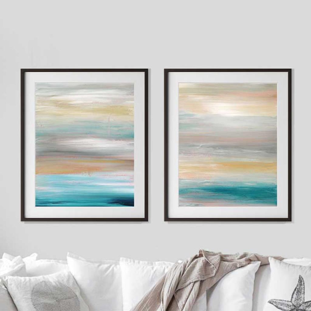 Seascape Art Canvas FRACTAL CRESTS Print Seascapes Waves Poster Seascape Artwork Seascape Print Seascape Home Decor Seascape Poster