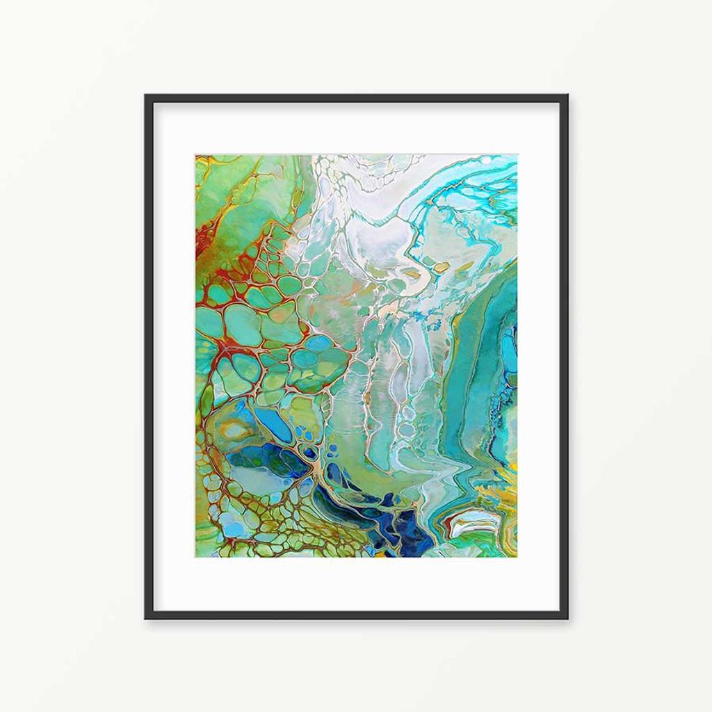 printable ocean painting, abstract printable art
