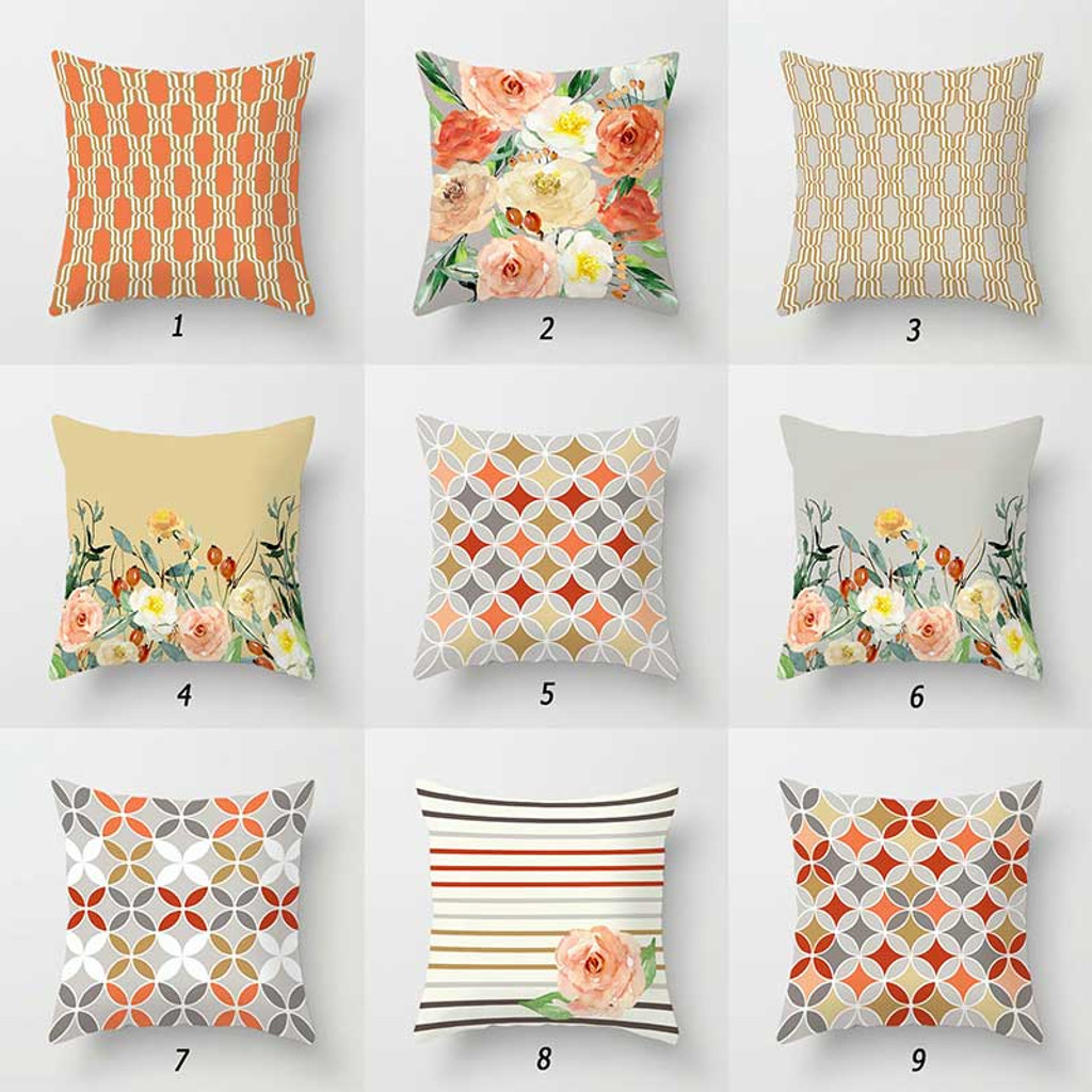 Throw pillows with roses by Julia Bars