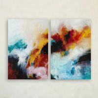 set of 2 wall art prints