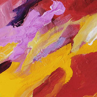 fragment of abstract painting by Julia Bars