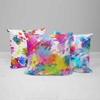 decorative watercolor art pillows