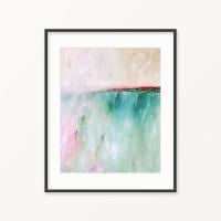 printable abstract art, coastal painting by Julia Bars