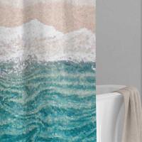 designer shower curtain by Julia Bars