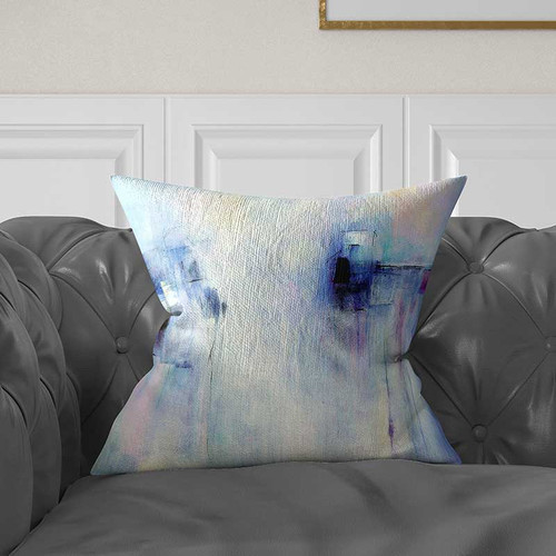 abstract decorative pillow by Julia Bars