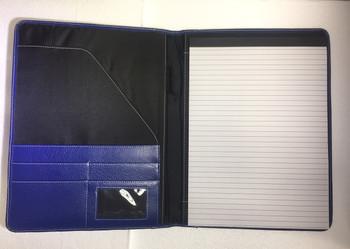 Genuine Leather Pad Holder / DOS Logo embossed