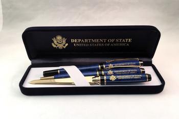 Pen set of 3/DOS Engraved in Presentation Box