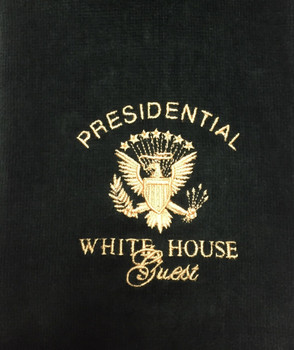 Golf Towel/Presidential Seal - White House Guest Embroidered