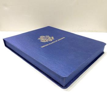 Luxury Ambassador Stationery Box/Gold logo imprint