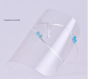 Blue Lock Glasses/Transparent Face Shield