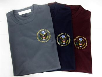 Dri-Mesh T-Shirt/DOS Logo Embroidered