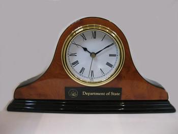 NAPOLEON STYLE - Desk Clock/DOS Engraving Plate