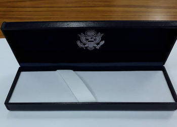 Hi-End Ballpoint Pen/Diplomatic Security Logo in Presentation Box