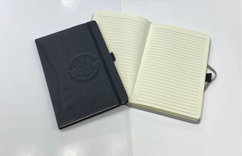 Executive Journal - Leatherette Cover/DOS Debossed Logo