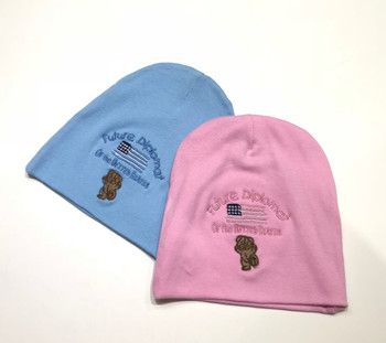 Infant Cap/Beanies - Future Diplomat Embroidered