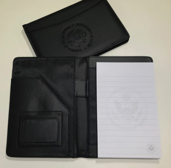 Junior Memo Pad Holder with DOS Embossed Logo