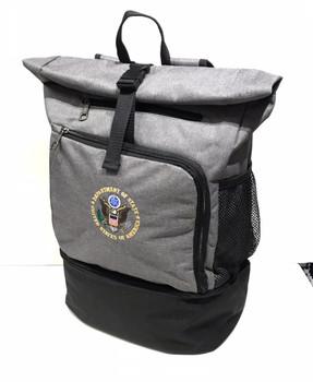 Unique Laptop Backpack Cooler - DOS Logo Embroidered