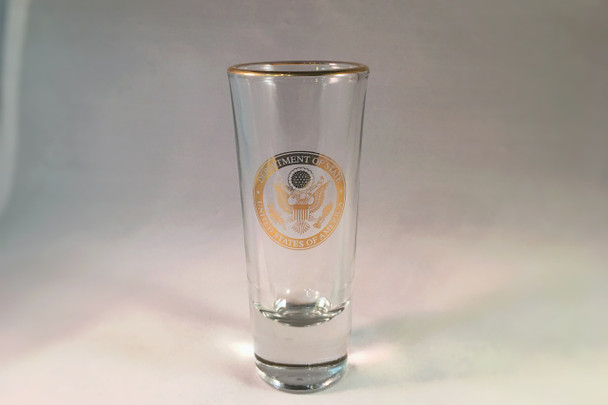 SHOOTER GLASS/GOLD DOS