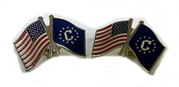 Consular Logo/US Flag Lapel Pin