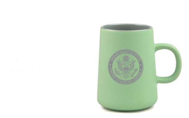 14 oz. Unique Mug/DOS logo