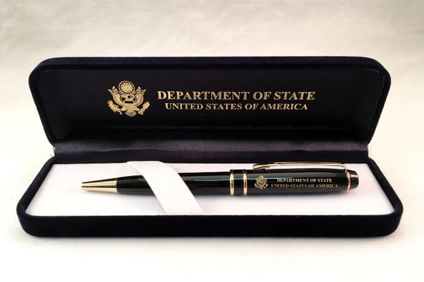 Ballpoint Pen/DOS Logo Engraved in a Presentation Box