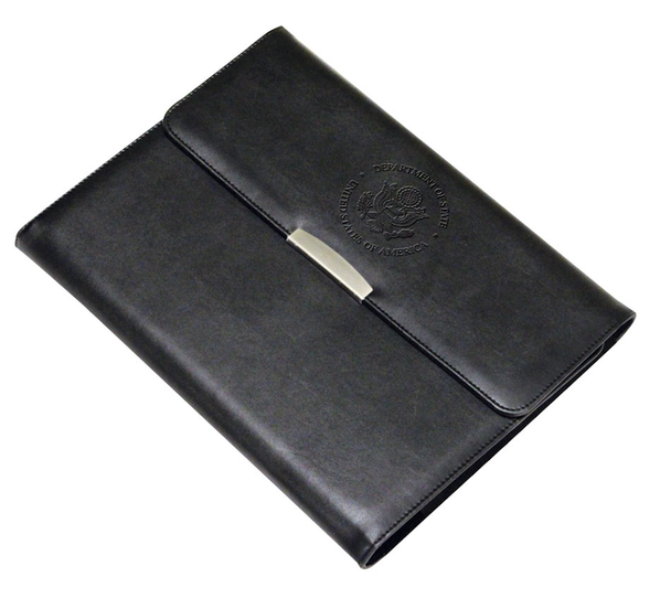 Executive E-Padfolio/DOS Embossed Logo