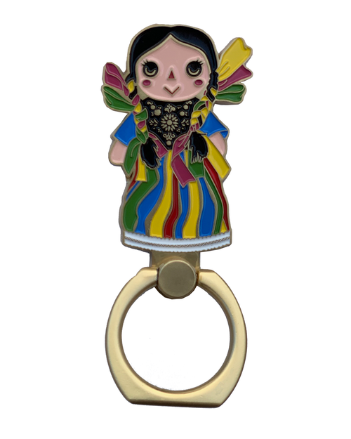 Mi Morenita Cellphone Ring Holder
