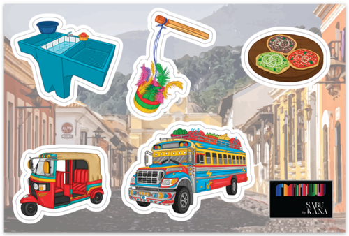 Alo Chapin Sticker Set