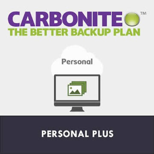 Carbonite Plus - 1, 2 or 3 Years