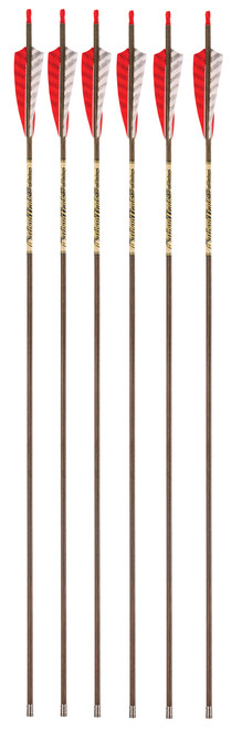 Victory Archery Carbon Trad 350-11.2 GPI Spine 6-Pack