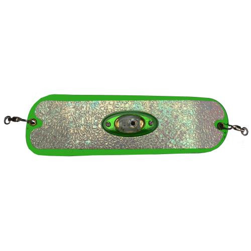 """Pro-Troll 11"""" Lighted Flasher-Glow Green"""
