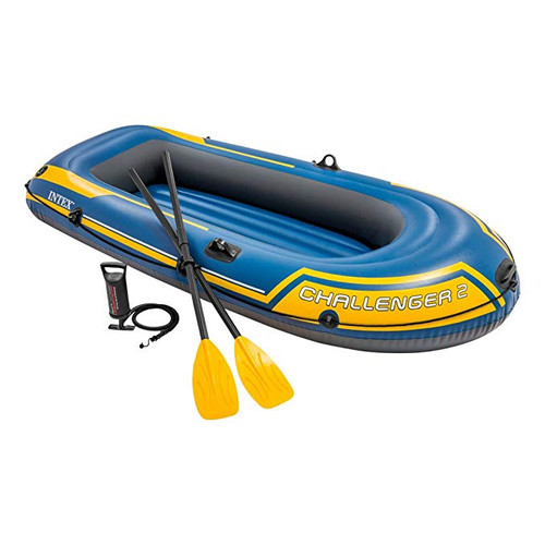Intex-Challenger 2 Inflatable Boat Set