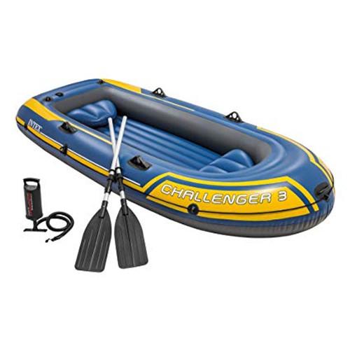 Intex Challenger 3 Boat Set