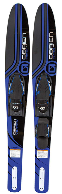 "O'Brien Vortex 65.5"" X7 Combo Water Skis-Blue"