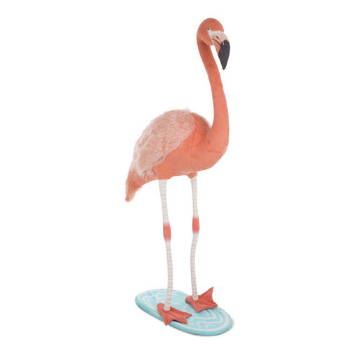 Giant Flamingo Lifelike Plush by Melissa & Doug