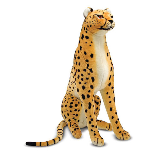 Giant Cheetah Lifelike Plush by Melissa & Doug