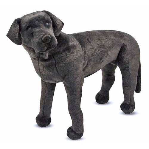 Black Lab  Lifelike Plush by Melissa & Doug