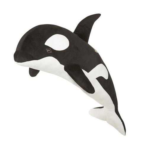 Orca Whale Plush by Melissa & Doug
