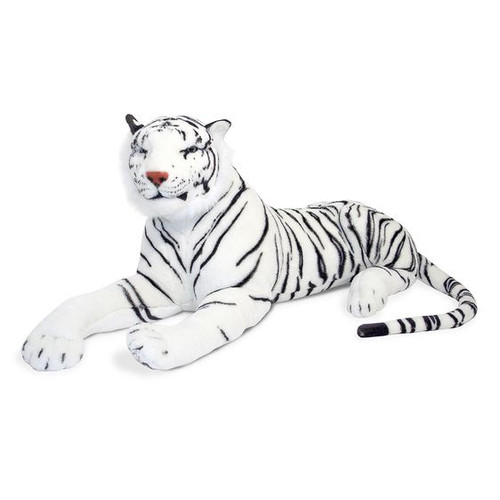 Giant Plush White Tiger by Melissa & Doug