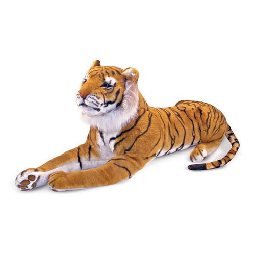 Giant Plush Siberian Tiger by Melissa & Doug