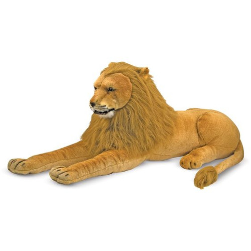 Giant Plush Lion by Melissa & Doug