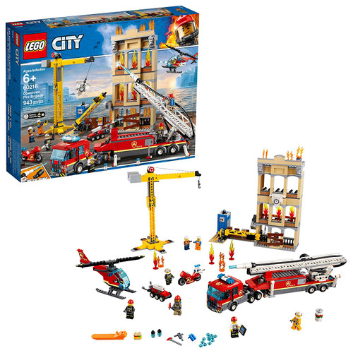 Lego-CITY-60216-Downtown Fire Brigade