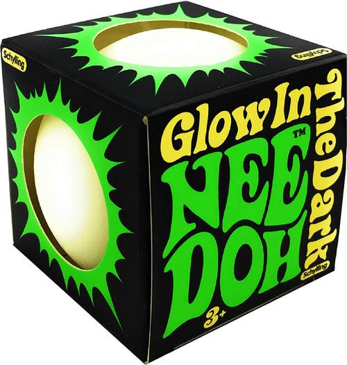 Nee Doh-Glow in The Dark Squisy Ball