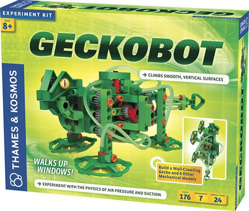 Geckobot: Wall-Climbing Robot
